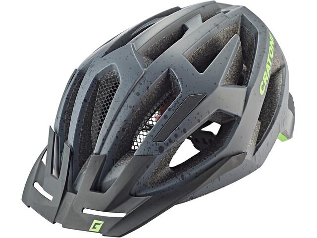 Cratoni C-Flash MTB Helmet grey/lime matte